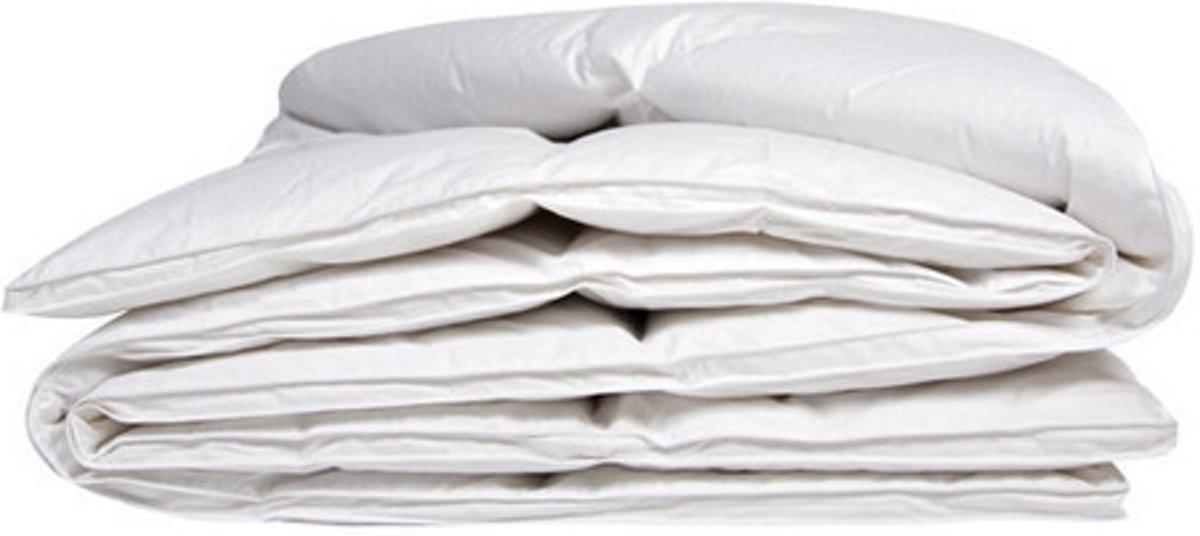 iSleep Donzen Dekbed - Enkel - 100% Dons (Warmteklasse 2) - Eenpersoons - 140x220 cm - Wit kopen