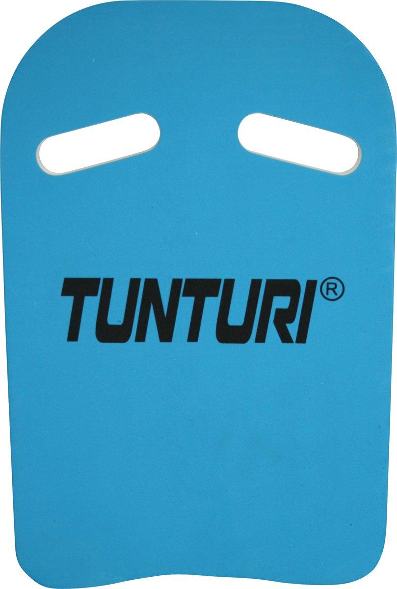 Tunturi Zwemplankje - Kickboard - Swimmingboard - Blauw/Wit kopen