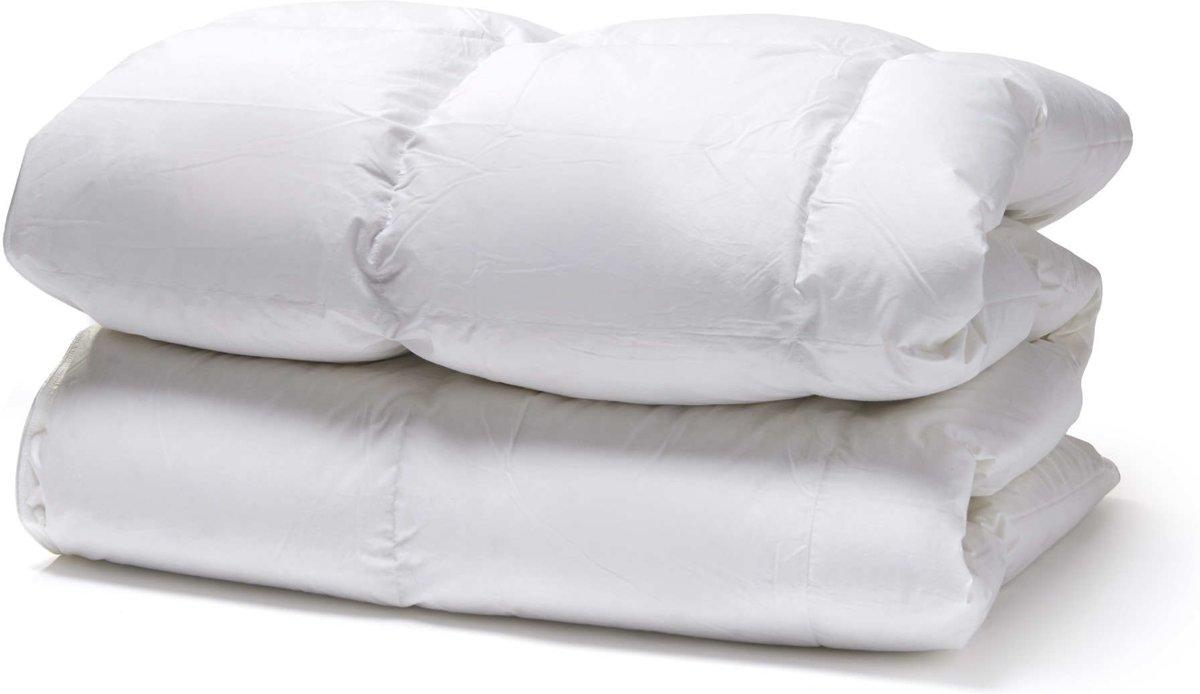 White-Cloudz donzen dekbed GRAZ 90% Europees eendendons 140x200 cm, Voor- / Najaar kopen