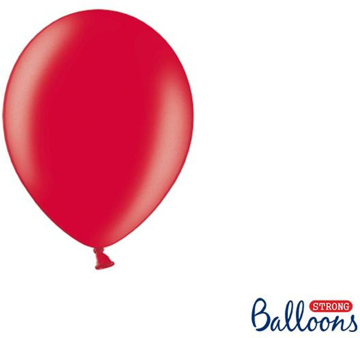 """""""""""""""Strong Ballonnen 12cm, Metallic Poppy rood (1 zakje met 100 stuks)"""""""""""" kopen"""