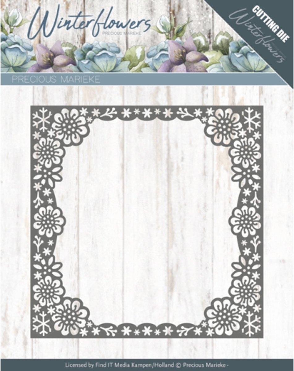 Dies - Precious Marieke - Winter Flowers - Snowflake flower frame kopen
