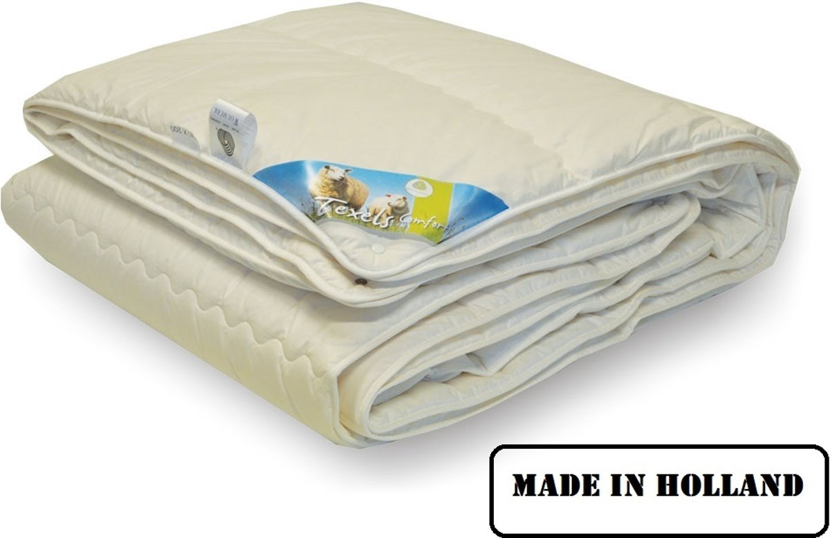 WoolMark Texel Comfort Enkel dekbed - Litsjumeaux - 240x220 cm kopen
