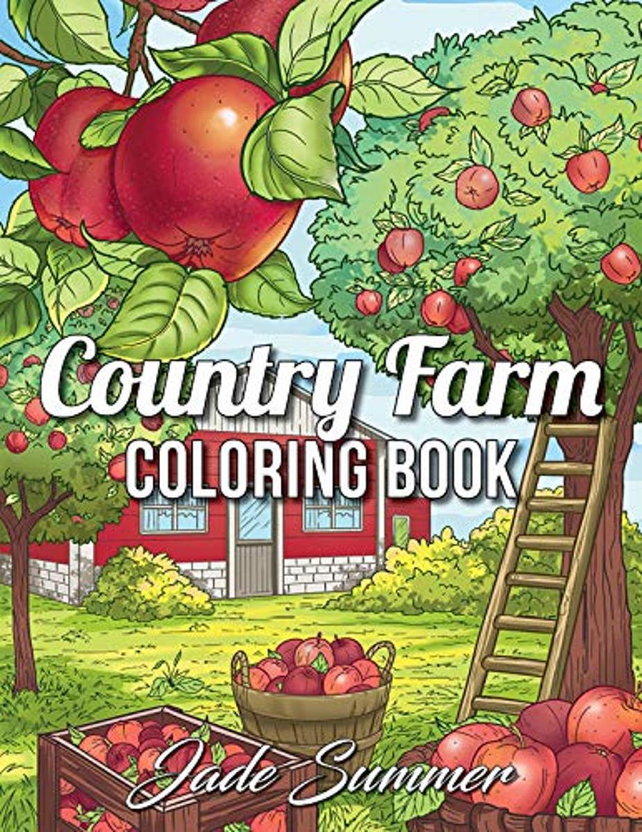 Country Farm Coloring Book - Jade Summer kopen