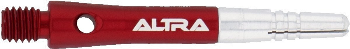 Bull´s Altra Topspin Aluminium Shaft 15 Mm Zilver/rood 3 Stuks kopen