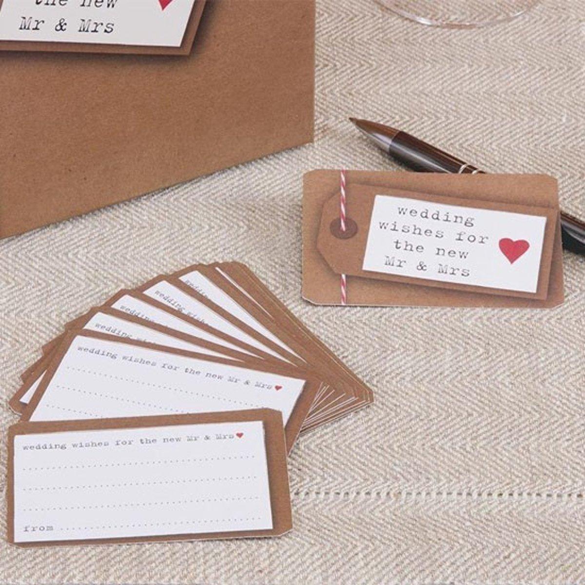 Just My Type - Wedding Wishes Cards - 25 stuks kopen