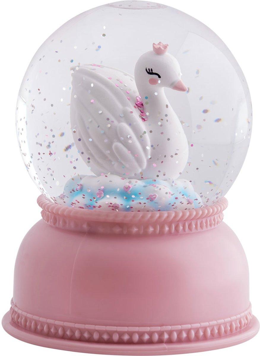 A Little Lovely Company Snowglobe Zwaan kopen