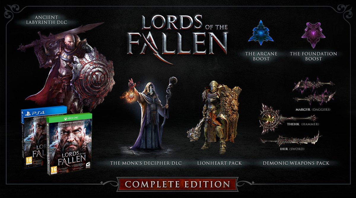 Lords of the Fallen - Complete Edition PlayStation 4