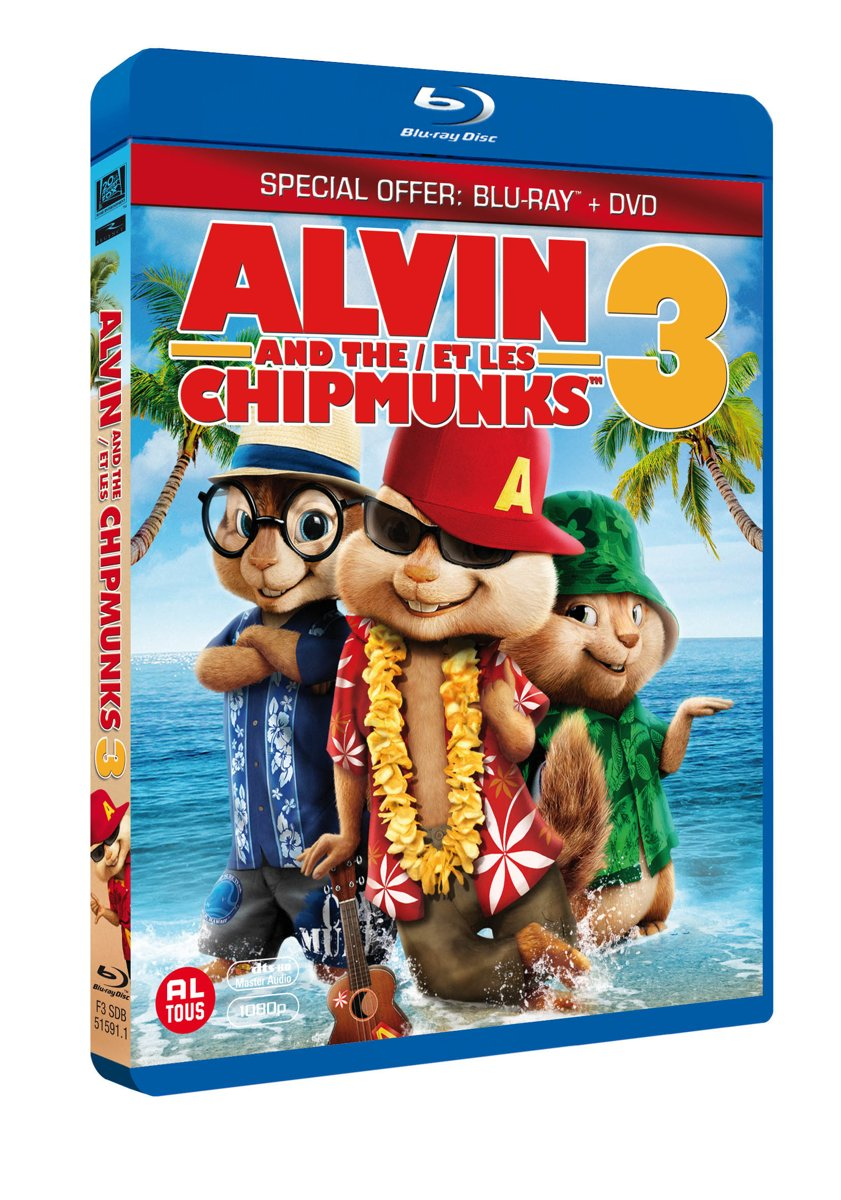 Alvin And The Chipmunks 3 Images bol | alvin and the chipmunks 3 (blu-ray+dvd combopack