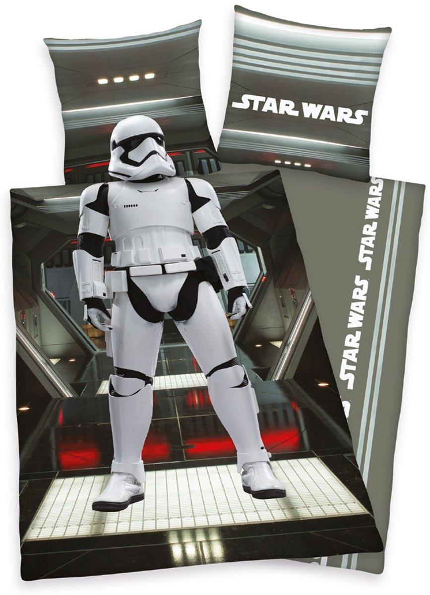 Star Wars - Dekbedovertrek - Eenpersoons - 140x200 cm + 1 kussensloop 65x65 cm - Multi kleur kopen