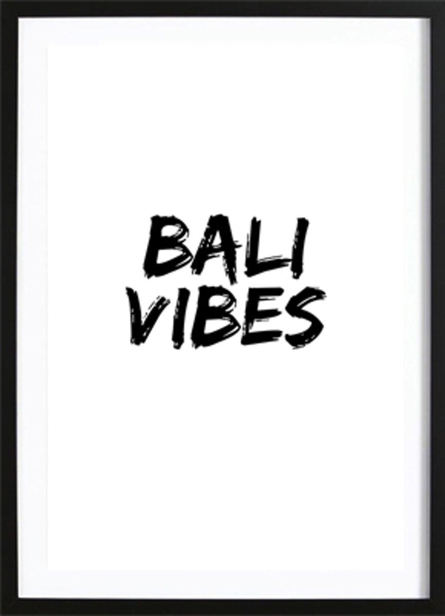 Bali Vibes (50x70cm) - Tekst - Poster - Print - Wallified kopen