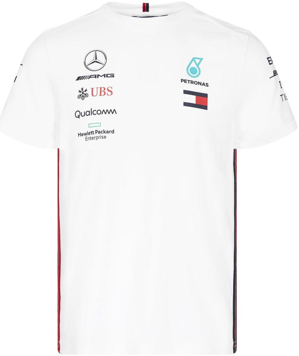 Mercedes AMG Mercedes Team Driver Tee - Wit - XL