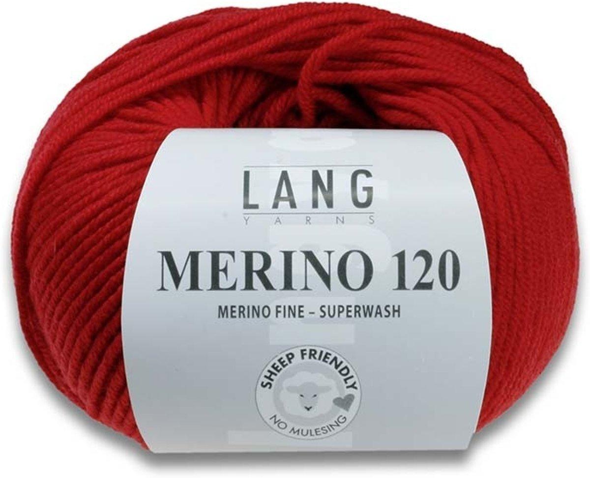 Lang Yarns Merino 120 31 kobaltblauw kopen