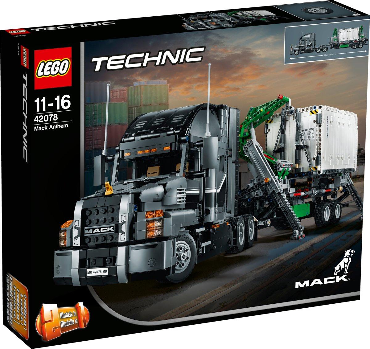 LEGO Technic Mack Anthem - 42078 voor €108,51