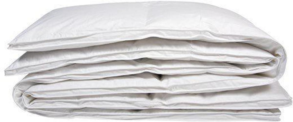 iSleep Halfdons Dekbed - Enkel - 15% Dons (Warmteklasse 1) - Eenpersoons - 140x200 cm - Wit kopen