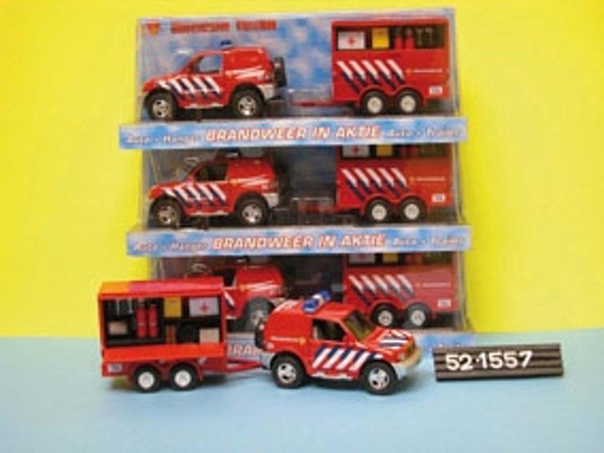 Brandweerauto met aanhanger kopen