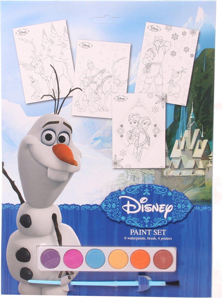 Slammer Frozen Kleurposters Verf 6-delig kopen