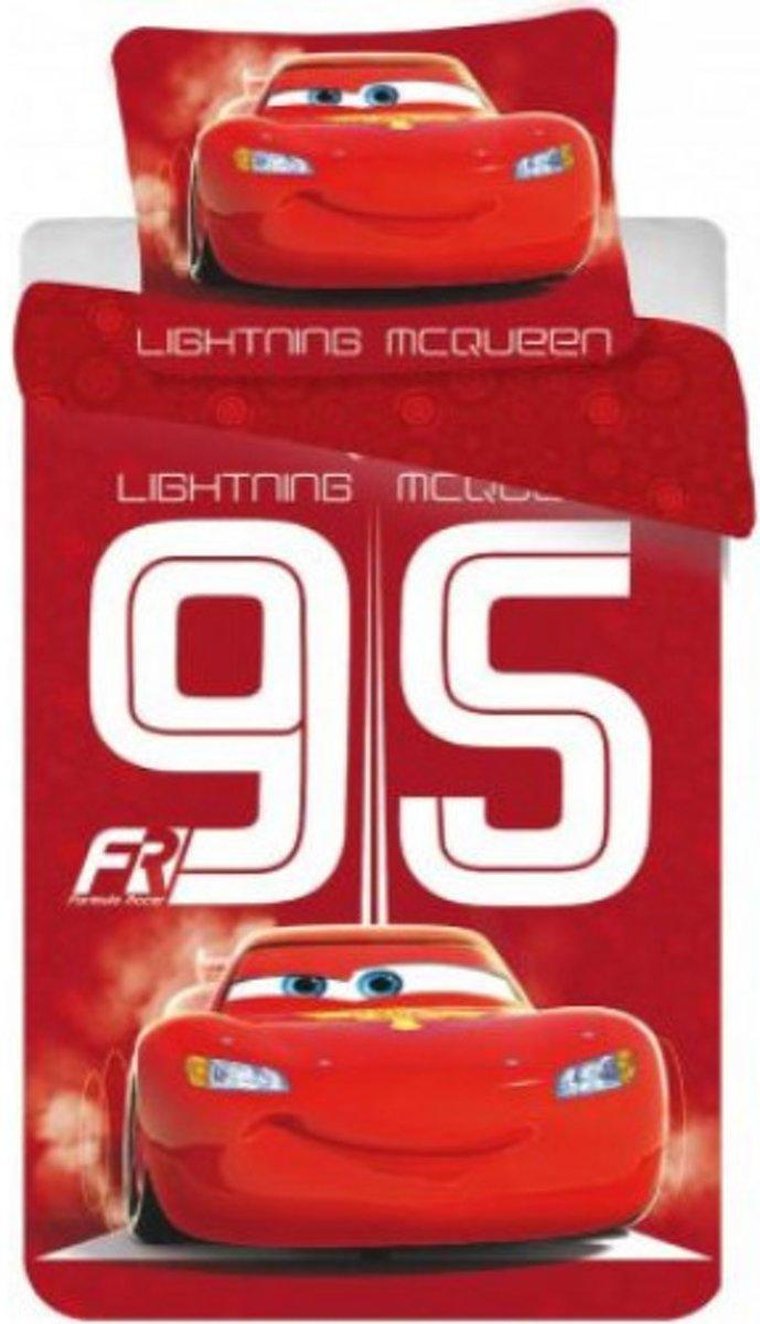 Disney Cars dekbedovertrek - rood - 140x200 cm kopen