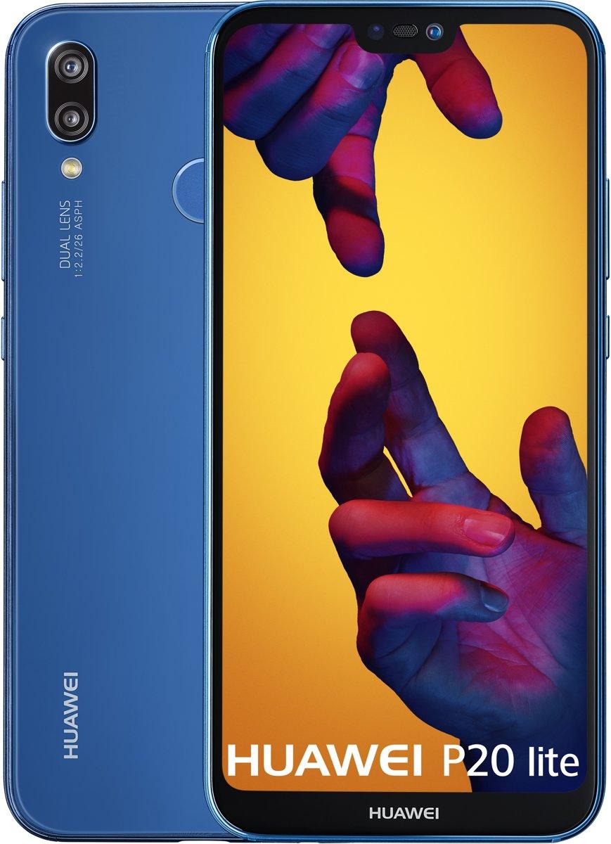 Huawei P20 Lite - 64GB  - Dual sim - Blauw kopen