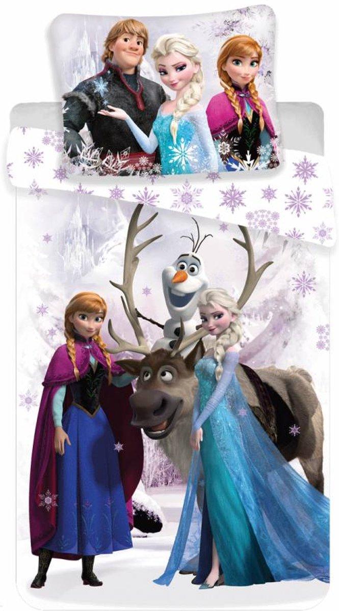 Dekbedovertrek Disney Frozen White Snow kopen