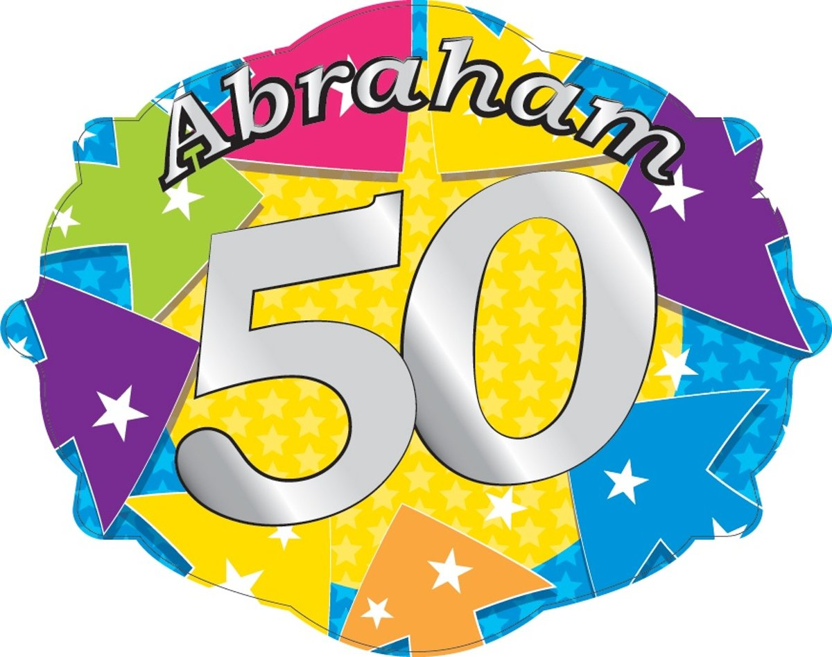 Deurbord - Abraham 50 kopen