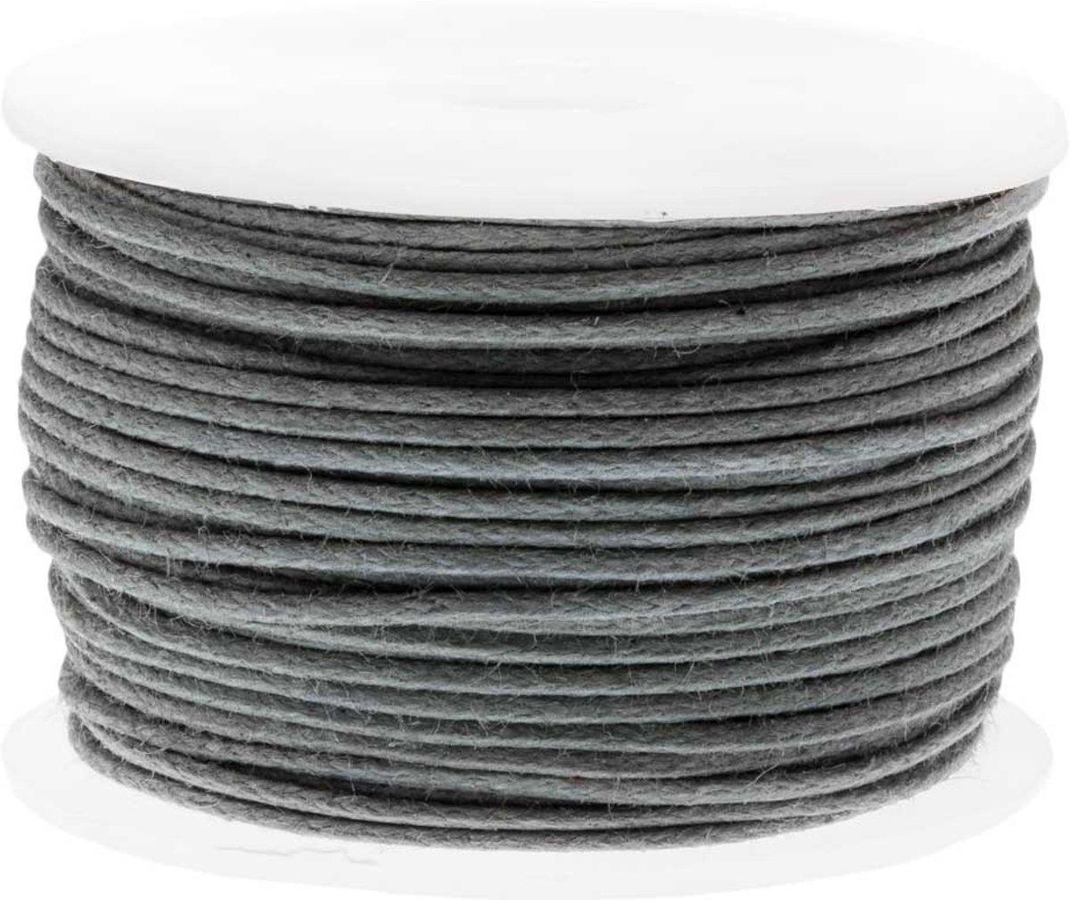 Waxkoord (0.5 mm) Stone Grey (25 Meter) kopen