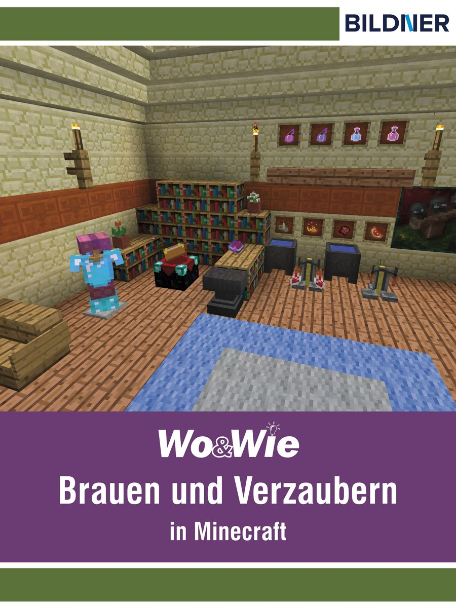 bol.com | Brauen und Verzaubern in Minecraft (ebook), Andreas ...