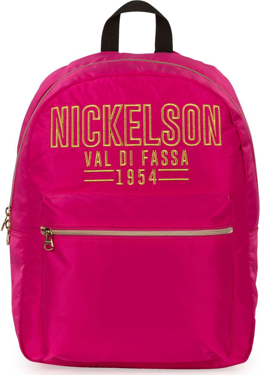 Rugzak Nickelson Girls pink: 41x30x16 cm kopen
