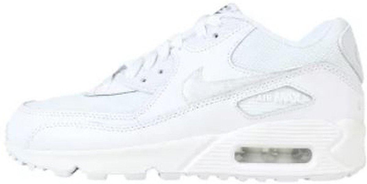 Nike Air Max 90 Mesh GS WitNike Air Max 90 Mesh GS Wit Kinder Sneaker Maat 38