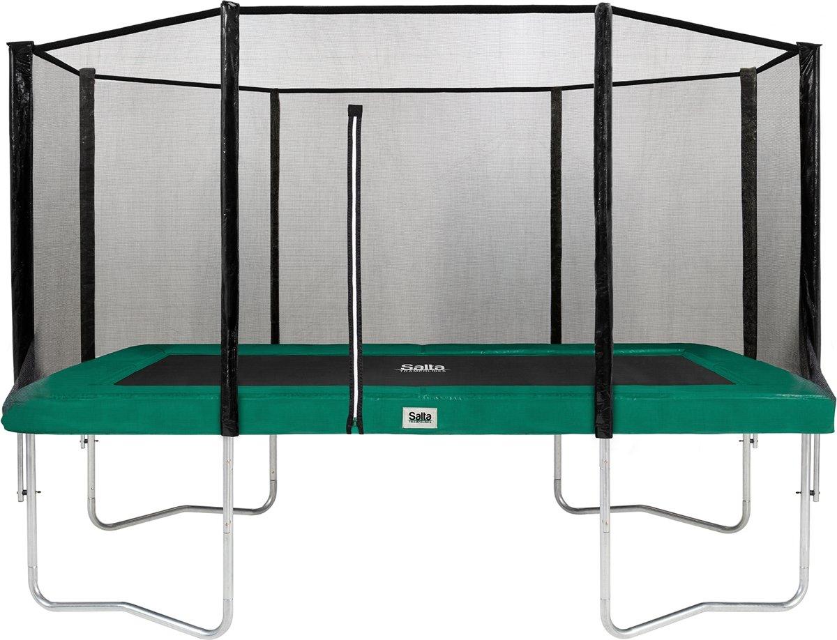 Salta combo 244 x 396 cm Groen - Trampoline