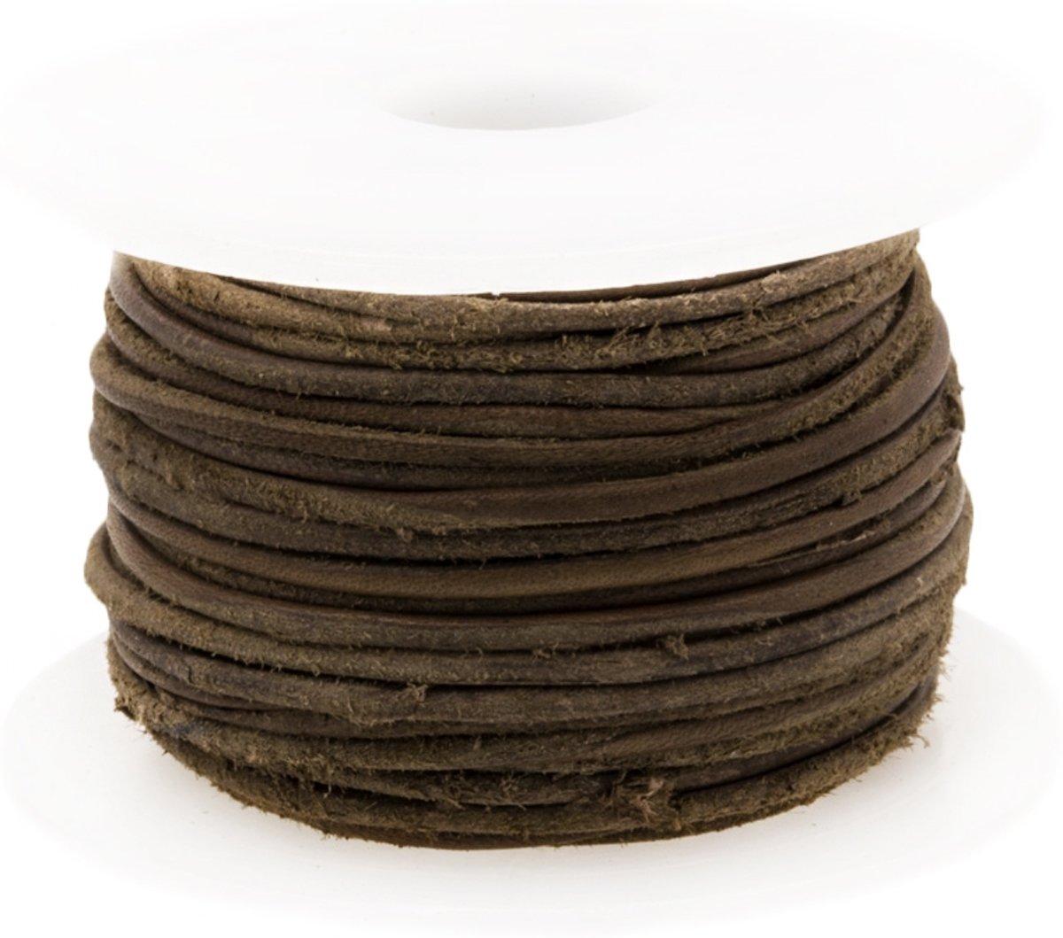 Keramiek Kralen (8 mm) Tan Brown (25 Stuks) kopen