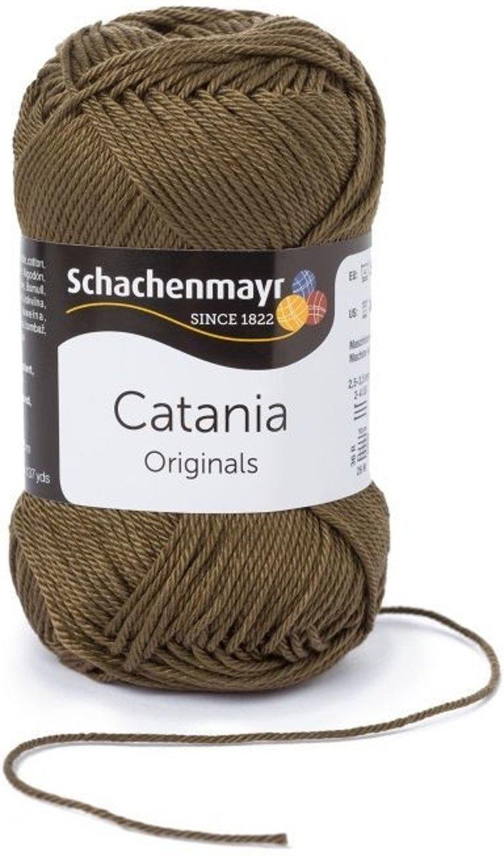 Schachenmayr Catania katoen 414 Camouflage. PAK MET 10 BOLLEN a 50 GRAM. KL.NUM. 19399470.  INCL. Gratis Digitale vinger haak en brei toerenteller kopen
