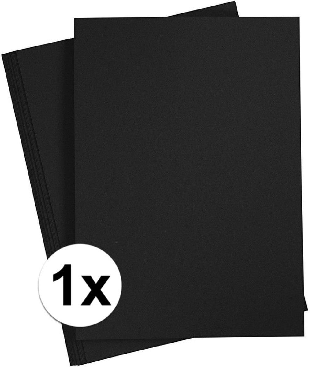 Zwart A4 vel 180 grams - hobby karton kopen