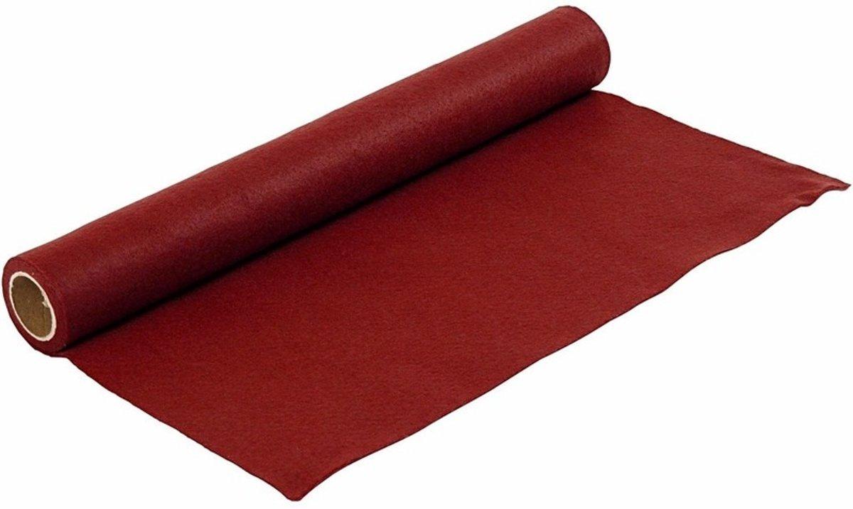 Hobby vilt donker rood 1,5 mm dik kopen