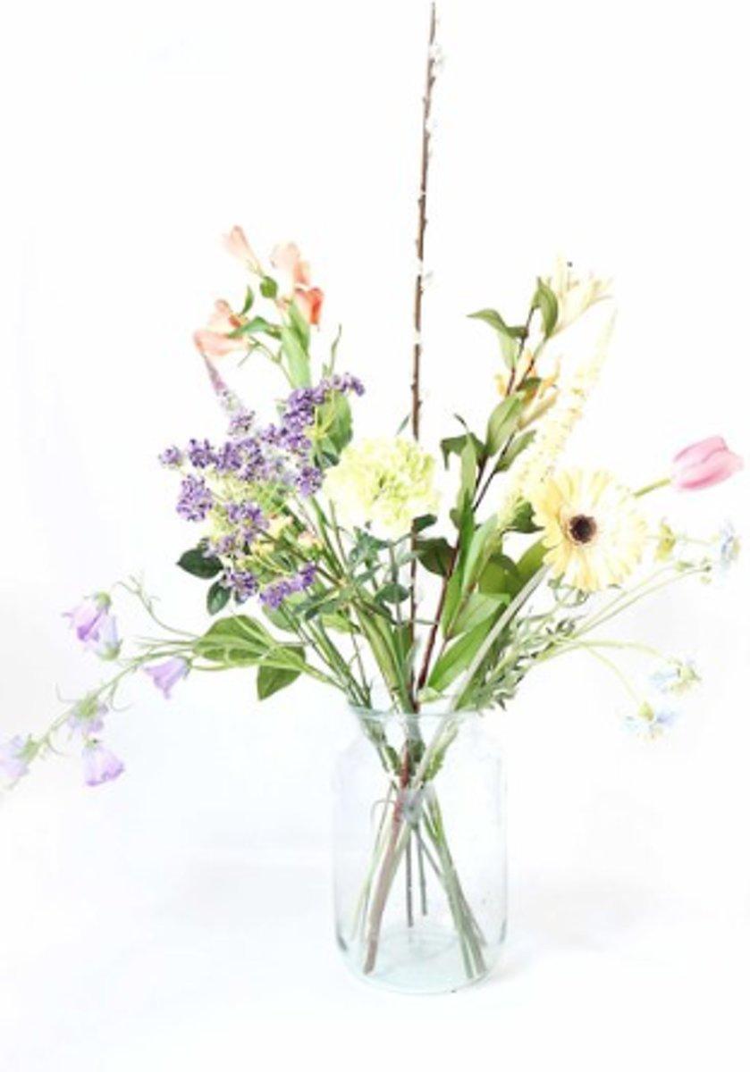 Kunstbloemen En Naaldhakken Veldboeket Bloomon style - 50x95 Cm - Multicolor kopen