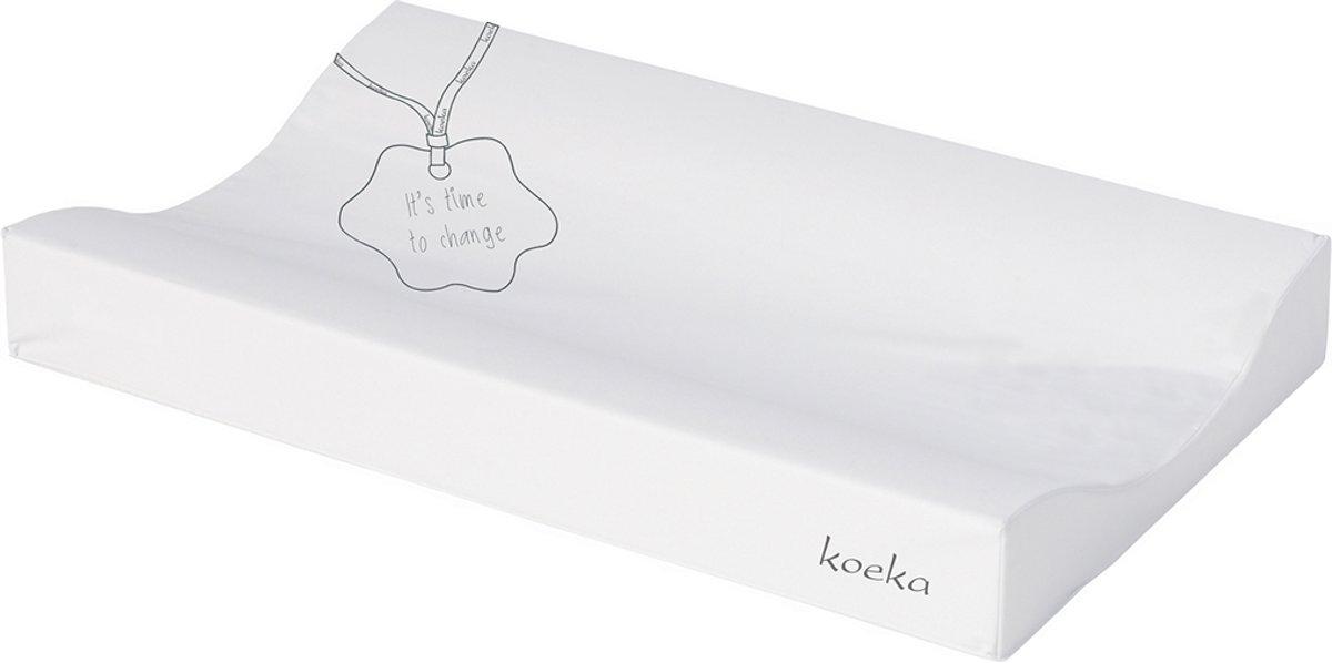 Koeka Aankleedkussen 'Time to Change' -  One Size - white