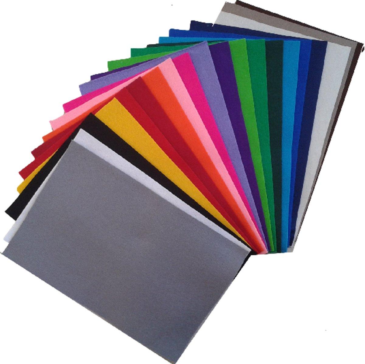 Wolvilt assortiment basis 20 kleuren kopen
