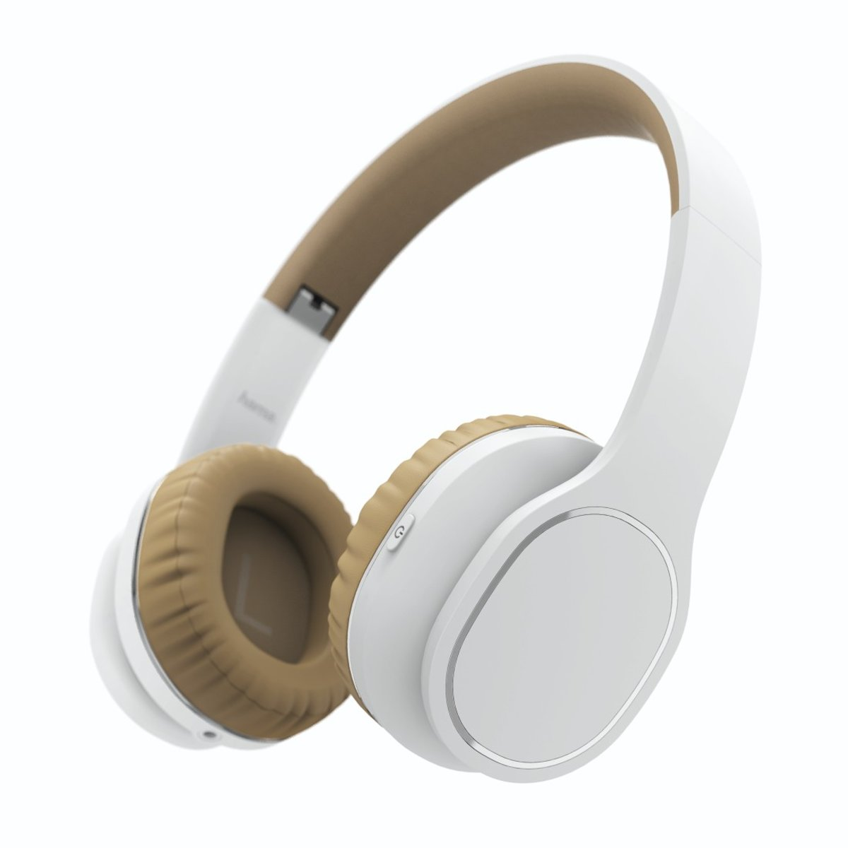 "Hama Bluetooth-on-ear-stereo-headset ""Touch"", wit/beige kopen"