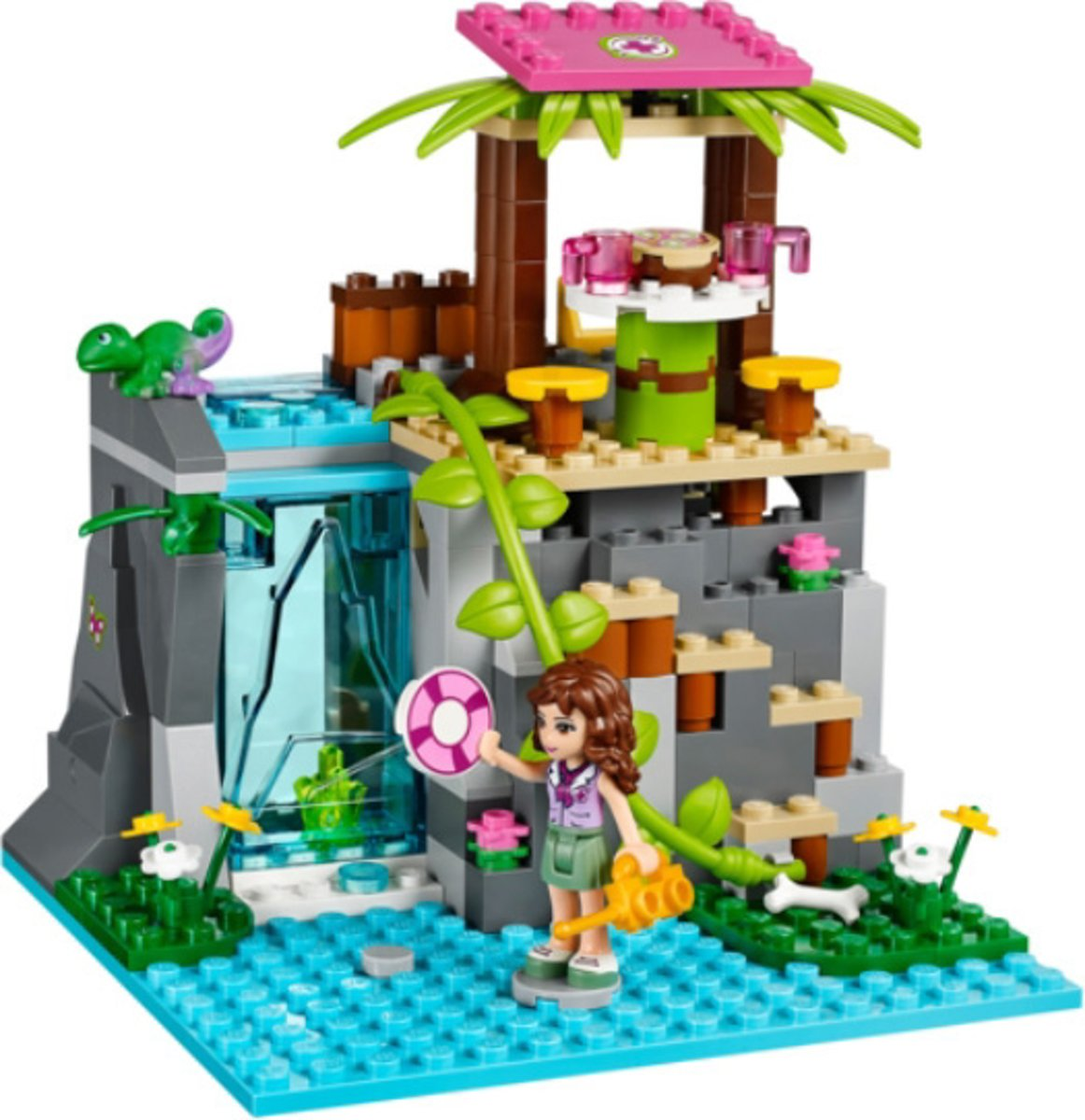 Bolcom Lego Friends Junglewaterval Reddingsactie 41033 Lego