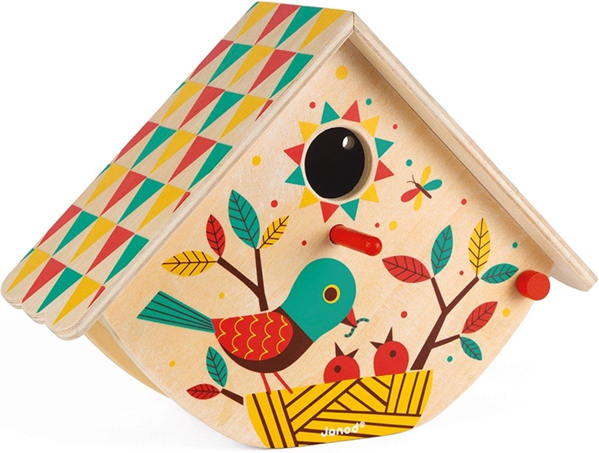 Janod Happy Garden - Mijn eerste vogelhuisje kopen