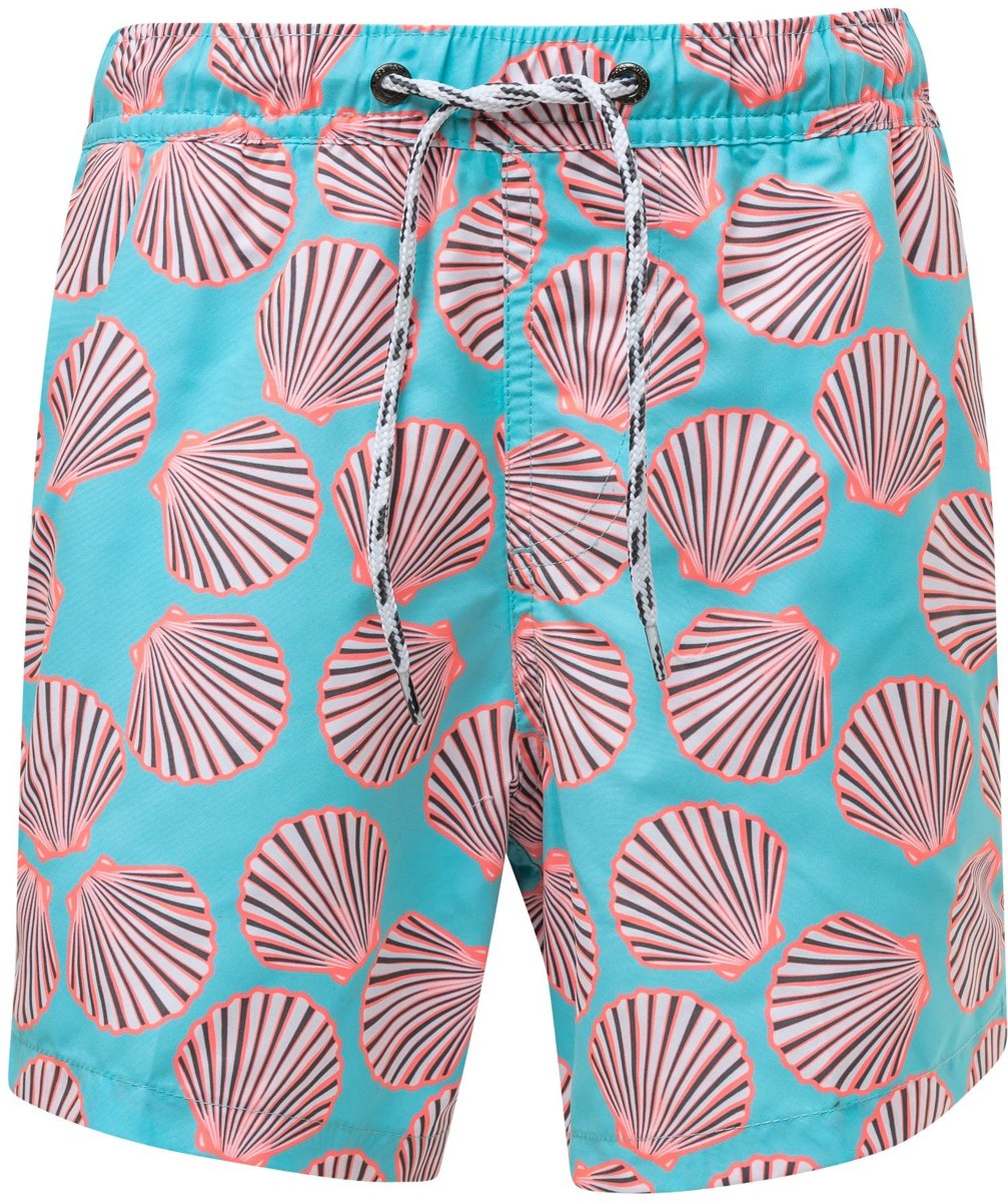 COOA Holographic Alien Mens Quick Dry Beach Board Shorts Swim Trunk