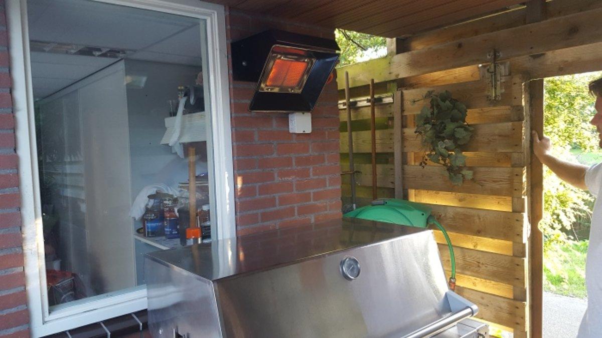 Infrarood Verwarming Garage : Bol.com terras heater aardgas infrarood straler terras verwarming
