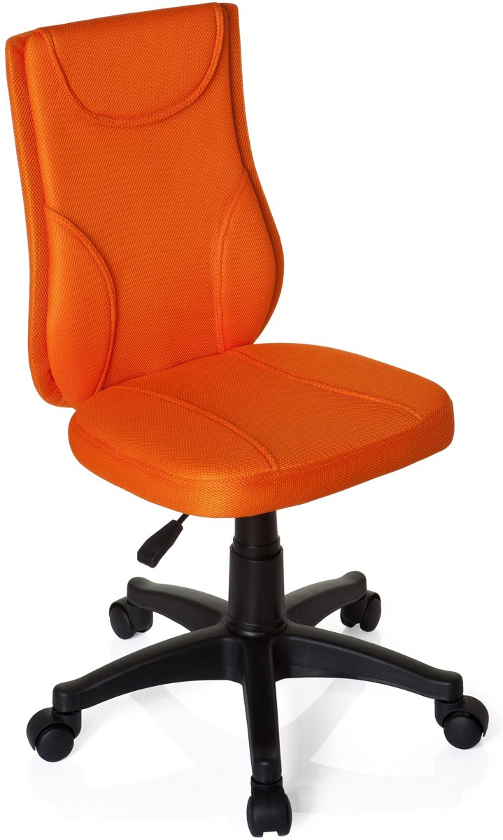 hjh office Kiddy base - Bureaustoel - Kinderbureaustoel - Oranje kopen