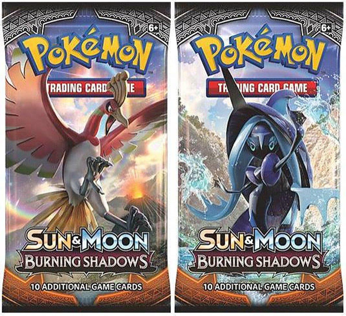 2 Pakjes Pokemon Kaarten Sun & Moon Burning Shadows kopen