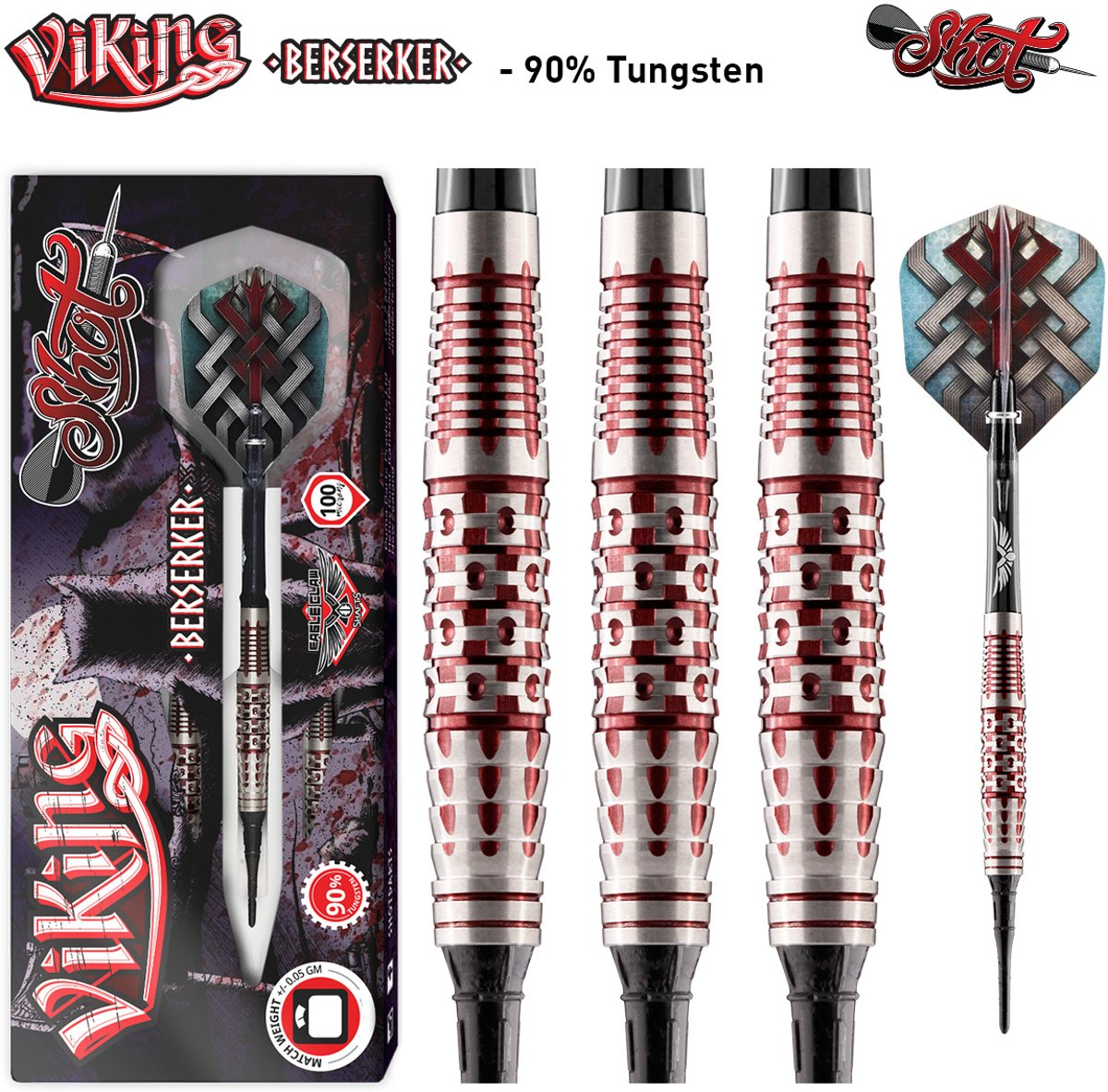 Shot Softtip Viking Berserker 90% 20 gram Darts kopen