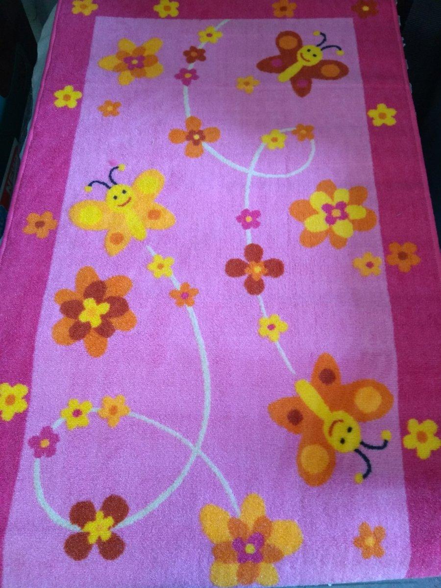 speelkleed butterfly 80 x 140 pink