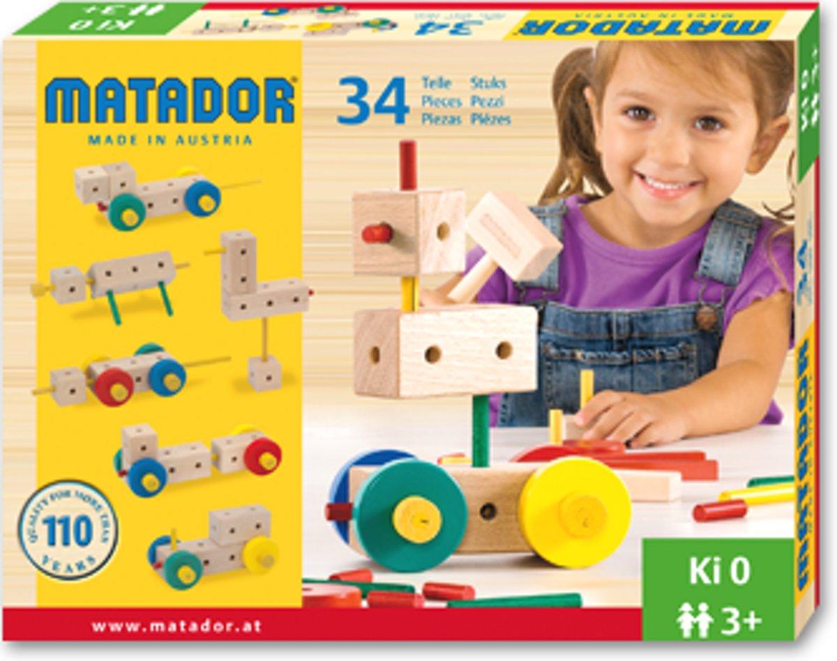 Matador Maker 3+ 34-delig Ki0 bouwdoos