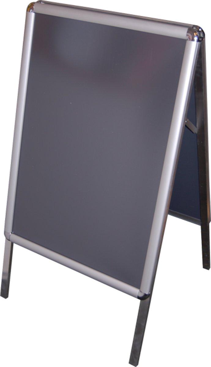 Stoepbord, Aluminium, a-bord met kliklijst, 50x70cm, kopen