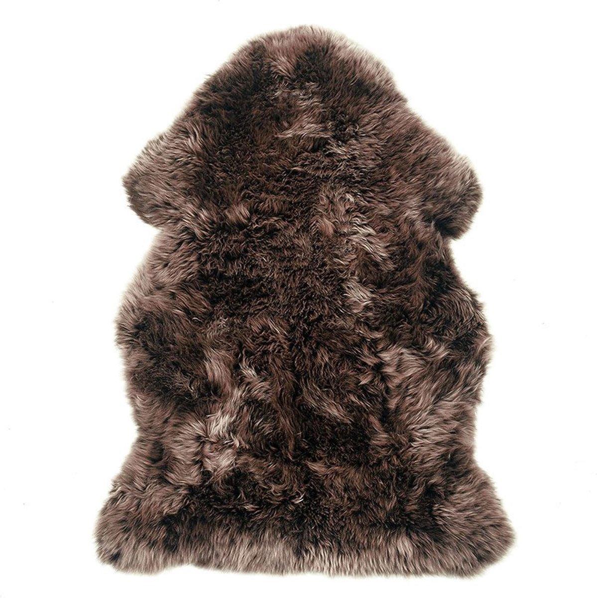 Luxe bruine schapenvacht kopen