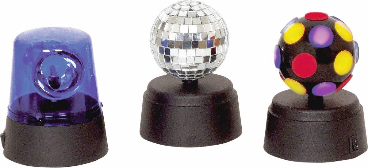 Cheetah mini disco party lichtset werkt op batterijen kopen