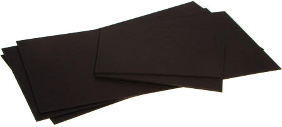 Bainbridge 100 Super Zwart Achterkarton 15.2x20.3cm (25 Stuks) [BACB6] kopen